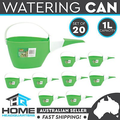 20x Watering Can 1L Garden Patio Flower Plant Tool Plastic Pot Home Decor