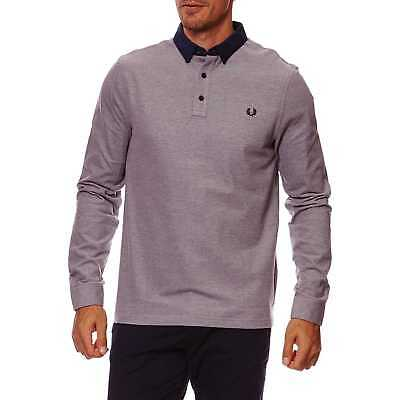 Fred Perry - T-shirt manches longues - bleu
