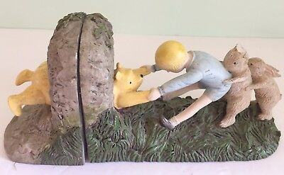Vintage Disney Classic Winnie the Pooh Bookends Nursery Decor Childrens Room