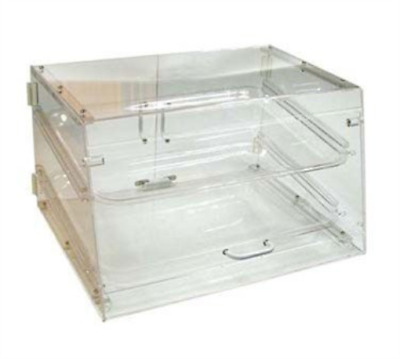 Winco ADC-2 2-Tier Pastry Display Case, Acrylic