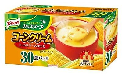 Knorr Instant Cup Soup Corn Cream 30 bags Japan Import Free Shipping