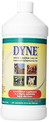 Dyne High Calorie Syrup Supplement 32 oz. Dog Puppy Horse Cow Pig Weight Gainer