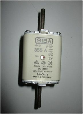 Siba Blade Fuses 355A NH2 gL/gG Combination Indicator