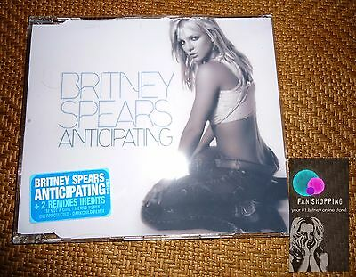 Britney Spears - Anticipating cd single ( acrylic slim case) rare