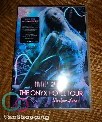 Britney Spears - The Onyx Hotel Tour Live in Lisbon DVD + extras