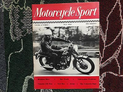 Motorcycle Sport Magazine - May 1969 - Brighton Show Test Day Triumph Cover