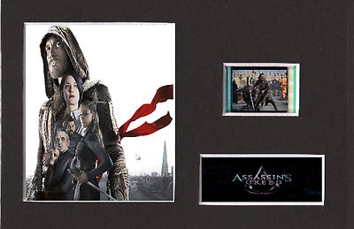 Assassin's Creed replica 35mm Mounted Film Cell Presentation Display 6 x 4