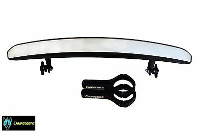 """Chupacabra Offroad DELUXE OVERSIZE Side By Side UTV Mirror 1.75"""" Clamp RZR 800 9"""
