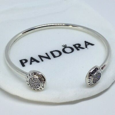 Sterling Silver Pulsera SELLO LOGO ALE S925 Genuine Pandora bag