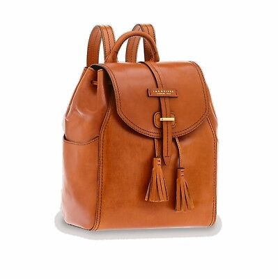 Zaino The Bridge Florentin Backpack 04341701 15 Cognac