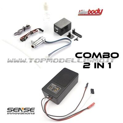 COMBO 2 IN 1 Kit FUMO Kille Body + Kit SUONO Sense Innovations