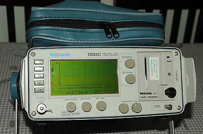 Tektronix 1502C Metallic TDR Cable Tester. Time Domain Reflectometer