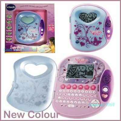 Vtech Secret Safe Diary 2 Voice Activated Electronic Journal NEW Girl's Toy
