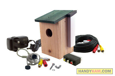 FREE bird box + colour camera kit with night vision, sound + FREE SHIPPING!!!