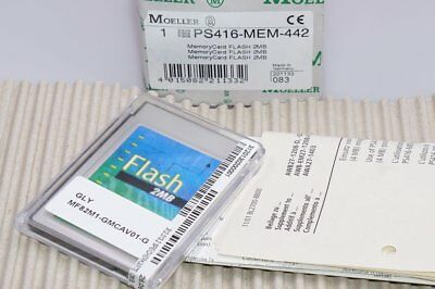 MOELLER Speicherkarte PS416-MEM-442  Memory Card Flash Card 2MB OVP NEU