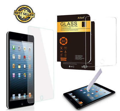 Real Tempered Glass Film Screen Protector For Apple iPad Mini 1/2/3 UK
