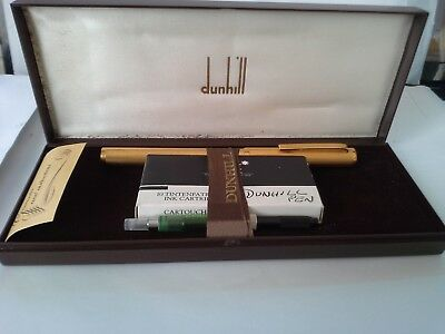 Dunhill Gold Plated Fountain Pen Germany