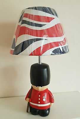 Exclusive Novelty Lamp featuring London Guard for Table or Bedside