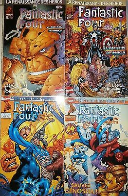 Lot 4 Fantastic Four - Marvel (Strange Titans X men Nova)