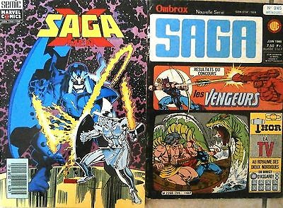 Lot 2 Saga - Marvel (Strange Titans X men Nova)