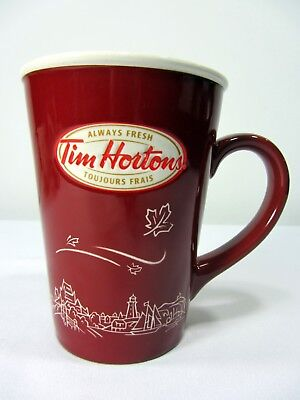 Tim Horton's Limited Edition #10 Coast to Coast Red Coffee Tea Mug Cup