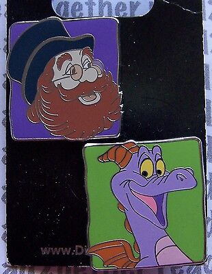 Disney Pin WDW Figment and Dreamfinder Set