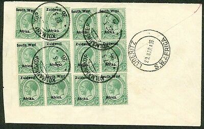 South West Africa  1926 Letter  F-Vf°