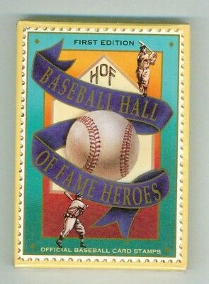 St.vincent - 1992 – Baseball Card Stamps  - Vf  **