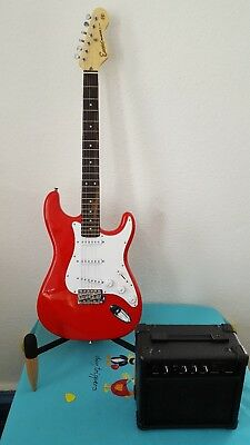 "Electric Guitar E6RED ""Package Deal"" by Encore (E6R P14)"