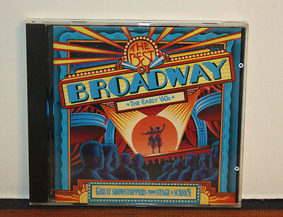 Best Of Broadway: Early '60s (CD, 1996) Dick van Dyke, Pat Boone, Lucille Ball