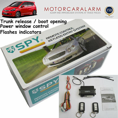 SPY Car Remote control Keyless Entry system / Door central Locking upgrade Kit