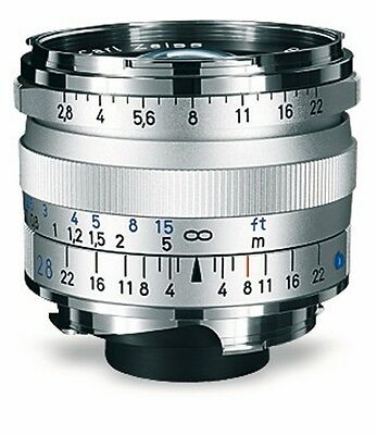 Zeiss Biogon T 28 mm 1:2,8 ZM Silver for Leica M
