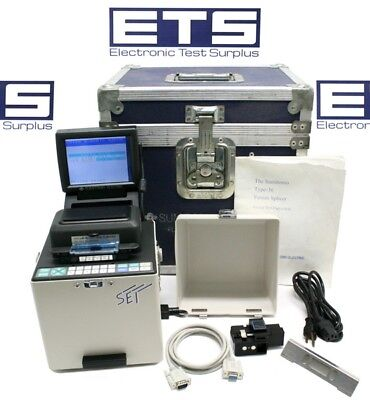 Sumitomo Type-36 Optical Fusion Splicer With Fiber Cleaver