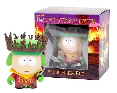 South Park Stick of Truth:Kyle the High Elf Jew Kidrobot Vinyl Figure New in Box