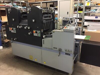 AB Dick 9995A Two Colour Offset Printing Press