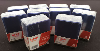 200 x Toploaders by Card Concept - Hard Plastic Top Loaders - MTG - Toploader