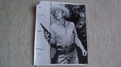 1958 press photo John Bromfield date stamped on back The Sheriff of Cochise
