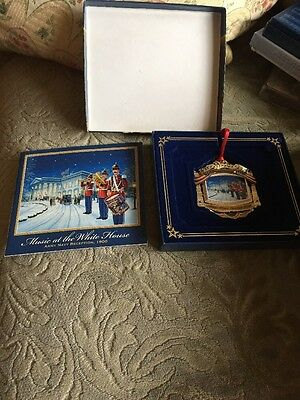 2010 White House Historical Assoc. Christmas Ornament William McKinley