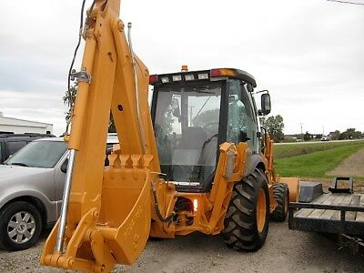 Case 580M Series 2 2005 Loader Backhoe 4X4 Ext Hoe New Tires Some Hydr  4800 Hrs