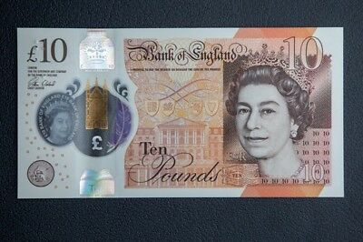 Brand New Polymer £10 Note Jane Austin Un-Circulated Ready To Ship.