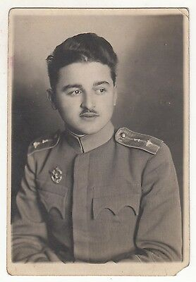 Kingdom Of Yugoslavia - Pilot, Officer - Original Photo