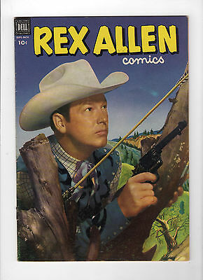 Rex Allen #6 (Sep-Nov 1952, Dell) - Very Good+