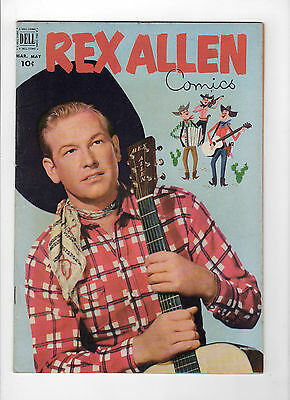 Rex Allen #4 (Mar-May 1952, Dell) - Very Good