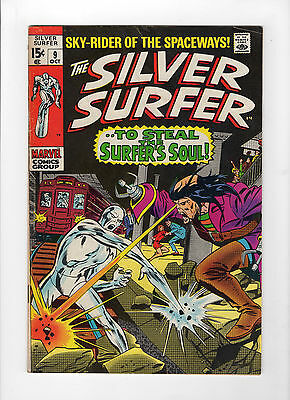 The Silver Surfer #9 (Oct 1969, Marvel) - Very Good/Fine