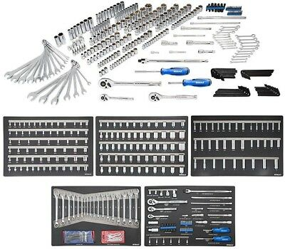 Kobalt 300-Piece Standard (Sae) And Metric Mechanic's Tool Set N/A (No Case)