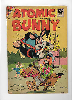 Atomic Bunny #12 (Aug 1958, Charlton) - Good-