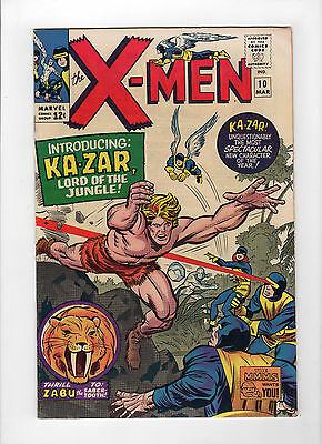 The X-Men #10 (Mar 1965, Marvel) - Very Fine