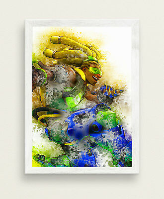 Lucio Poster Overwatch Game Poster BIG SIZE 33x47 Print SW454