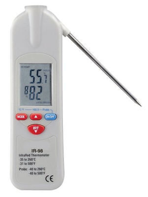 IR FOOD THERMOMETER - TWO in ONE - IR98