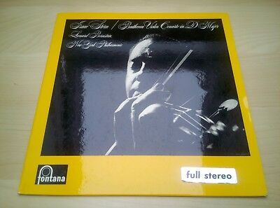 "ISSAC STERN - Beethoven Violin Concerto 12"" EP"